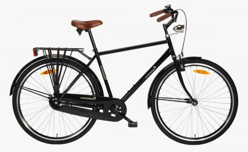 herrenrad-schwarz-braun